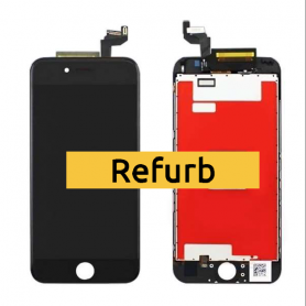 "ECRAN IPHONE 6S + NOIR LCD ORIGINAL APPLE  ""REFURB"""