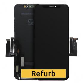 "ECRAN IPHONE XR NOIR LCD ORIGINAL APPLE  ""REFURB"""