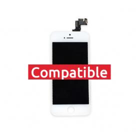 ECRAN IPHONE 5S BLANC LCD COMPATIBLE