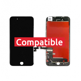 ECRAN IPHONE 7+ NOIR LCD COMPATIBLE