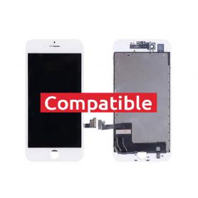 ECRAN IPHONE 8+ BLANC LCD COMPATIBLE