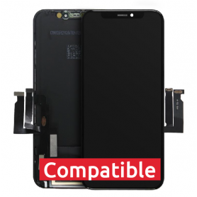 ECRAN IPHONE XS NOIR LCD COMPATIBLE