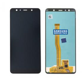 ECRAN NOIR A7 2018 (A750F) SERVICE PACK SAMSUNG GH96-12078A
