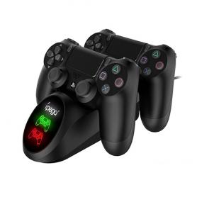 iPega 9180 Playstation 4 PS4 Gamepad Double Dock de chargement