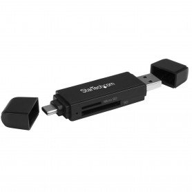STARTECH Lecteur et enregistreur de cartes SD et microSD USB 3.0 - USB-C et USB-A