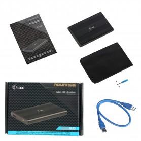 I-TEC Boîtier Pour Disque Dur MYSafe - USB 3.0 Interface hôte Externe