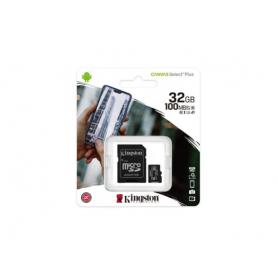 "Carte Micro SDHC Kingston Canvas Select Plus - 32 Go ""GARANTIE A VIE"""