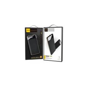 Aspor® Powerbank A385 LCD Digital Li-Polymer 10000mAh Dual Output IQ 2A Black