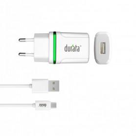 Durata Smart Mini + Micro cable  1A  DR-65M White