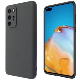 """OKKES"" ""Basic"" TPU Case pour Huawei P40 Pro black"
