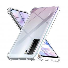 Coque pour Huawei P40 Lite 5G et nova 7SE Coque avec Renfort des Quatre Angles