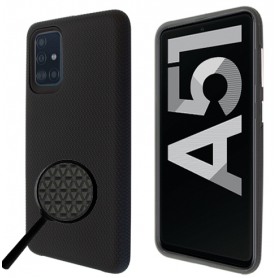 """OKKES"" ""Guard 02 serie"" pour Samsung A515F Galaxy A51 noir"