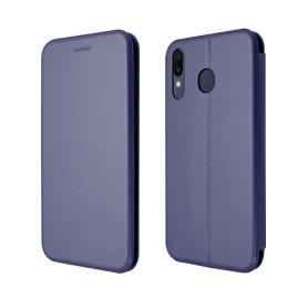 """OKKES"" Book Case ""Osaka"" pour Samsung A202F Galaxy A20e BLEU"