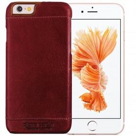 PIERRE CARDIN OFFICIEL COQUE EN CUIR SLIM BORDEAU iPhone 6PLUS-6SPLUS