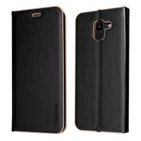 """Star-Case"" ® Book Case ""Tokio"" pour Samsung J600F Galaxy J6 2018 noir"