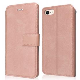 Wallet Case -  avec aimant pour SAMSUNG GALAXY J3 2017 ROSE GOLD