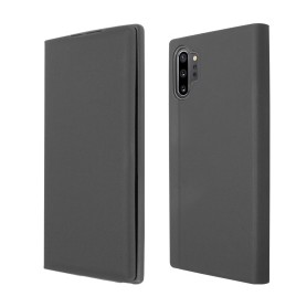 OKKES Book Case Milo pour Samsung  NOTE 10+ NOIR