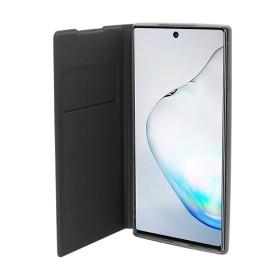 OKKES Book Case Milo pour Samsung  NOTE 10 BLEU