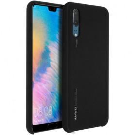 Officiel Huawei P20 SOFT TOUCH COQUE EN TPU Noir