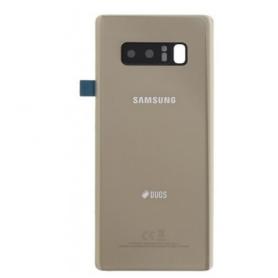 VITRE ARRIÈRE OR NOTE 8 SM-N950F SERVICE PACK SAMSUNG GH82-14979D