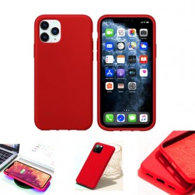 """Coque Softy Touch pour iPhone 11 PRO (5.8"""") - Rouge"""