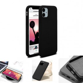 """Coque Softy Touch pour iPhone 11 (6.1"""") - Noir"""