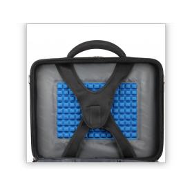 """Sacoche Ordinateur Portable Natec Boxer 17,3"""" max (Noir) - NTO-0393"""