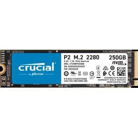 SSD Micron P2 CT250P2SSD8 - M.2 2280 Interne - 250 Go- nvme
