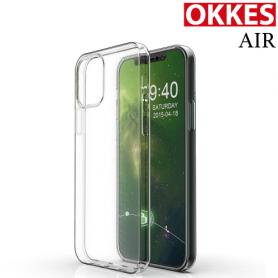OKKES AIR COQUE PROTECTION POUR Apple iPhone 12/12 PRO (6.1) Transparent