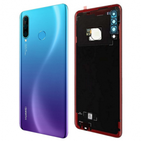 Huawei P30 Lite Battery Cover BLEUE PEACOCK SERVICE PACK