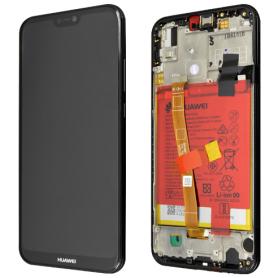 Huawei P20 Lite LCD Display & Touchscreen Original black SERVICE PACK
