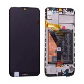 Huawei Y6P 2020 ECRAN LCD SERVICE PACK+BATTERIE ASSEMBLE   NOIR