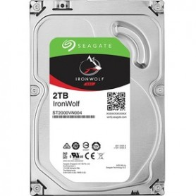 """2 To Seagate IronWolf SATA III 3,5"""" 5900 tr/min 64 Mo ST2000VN004 NAS/HDD"""