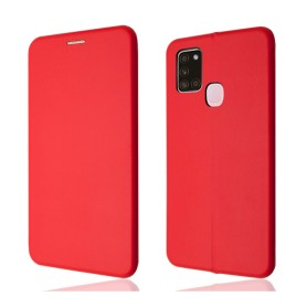 """""""OKKES"""" Book Case """"Osaka"""" pour Samsung A217F Galaxy A21s Rouge"""