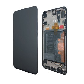 Huawei P SMART Z LCD écran + Touch + Frame + Battery Originale midnight noir