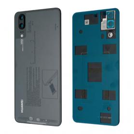 Huawei P20 Dual sim couvercle arrière Original NOIR