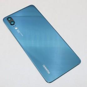 Huawei P20 Dual sim couvercle arrière Original BLEU