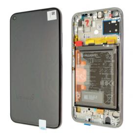 Huawei P40 Lite ECRAN LCD SUR CHASSIS ET BATTERIE Original Breathing Crystal