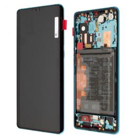 Huawei P30 Pro, P30 Pro New Edition LCD Display Original Aurora Blue
