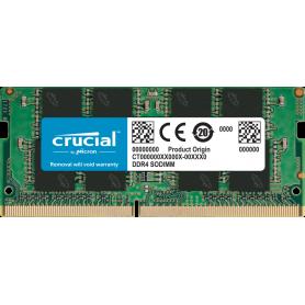 SoDIMM DDR4 2400 8Go Crucial