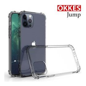 """OKKES"" ""JUMP"" pour Apple Iphone 12 Mini (5,4) TRANSPARENT"