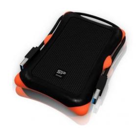 """ARMOR SILICON POWER Boitier externe  MC-740 USB 3.0 - 2""""1/2 S-ATA (Noir)"""