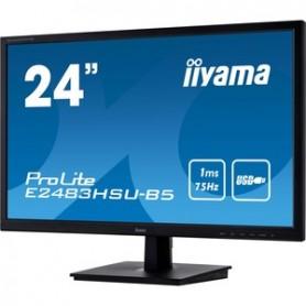 Moniteur 24 pouces IIYAMA VGA/HDMI/DP