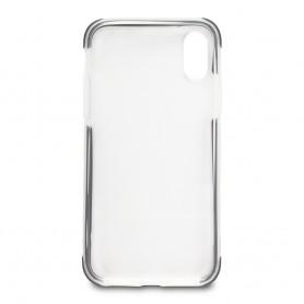 COQUE GEL RENFORCE EN TPU Ultra, Transparent & Noir pour iPhone XR