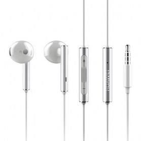 Huawei AM115 - Écouteurs avec micro - filaire - jack 3,5mm - blanc