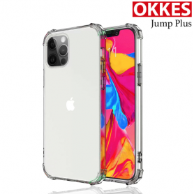 """""""OKKES"""" """"JUMP Plus"""" pour Apple Iphone 12 (6,1) / 12 Pro (6,1) Clear"""