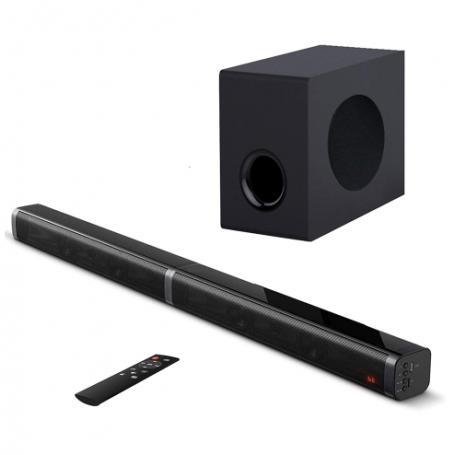 Samtronic SM3100 100w 2.1ch  Barre de son sans fil détachable TV/ORDINATEUR