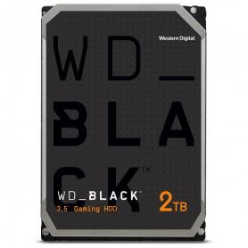 Western Digital WD Black - 2 To - 64 Mo Disque dur 2 To, 3.5'', SATA/AHCI, 7200 tr/min, 64 Mo,