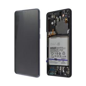 LCD écran Samsung G991B Galaxy S21 Originale Phantom gris