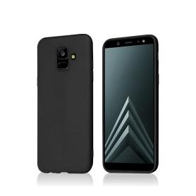 """""""OKKES"""" """"Basic"""" TPU Case für Samsung A600F Galaxy A6 2018 black"""